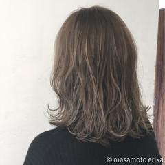 ハイライト ボブ 外ハネ グラデーションカラー ヘアスタイルや髪型の写真・画像