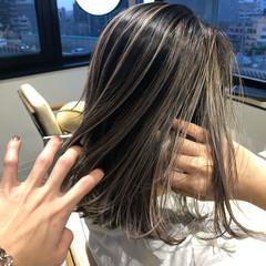 ミディアム ブリーチ必須 グラデーションカラー 外国人風カラー ヘアスタイルや髪型の写真・画像