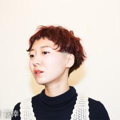 ガーリー モード ナチュラル ショート ヘアスタイルや髪型の写真・画像