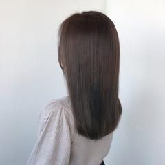 ロング 髪質改善トリートメント エレガント グラデーションカラー ヘアスタイルや髪型の写真・画像