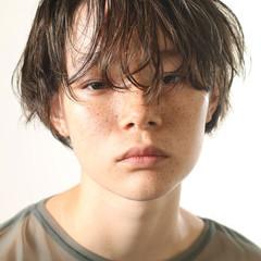 外国人風 ショート 外国人風カラー アッシュ ヘアスタイルや髪型の写真・画像