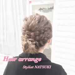 大人かわいい ゆるふわ ロング ヘアアレンジ ヘアスタイルや髪型の写真・画像