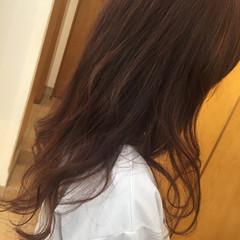 大人かわいい ピンク ゆるふわ フェミニン ヘアスタイルや髪型の写真・画像