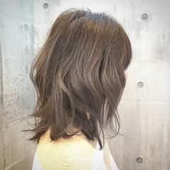 イルミナカラー ハイライト ボブ 外国人風カラー ヘアスタイルや髪型の写真・画像