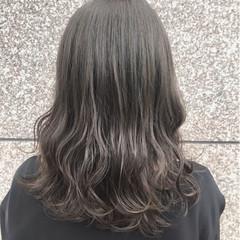 ナチュラル 外国人風カラー セミロング ヘアスタイルや髪型の写真・画像