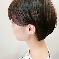 ショート 大人かわいい ヘアアレンジ 艶髪 ヘアスタイルや髪型の写真・画像