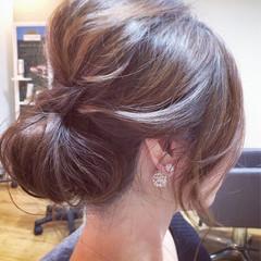ショート セミロング ヘアアレンジ 和装 ヘアスタイルや髪型の写真・画像