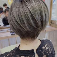 ベリーショート ショート ショートヘア ウルフカット ヘアスタイルや髪型の写真・画像