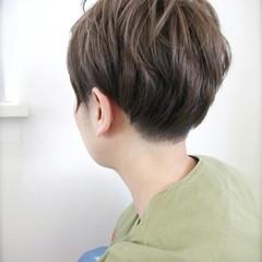 ストリート アッシュ 外国人風 ショート ヘアスタイルや髪型の写真・画像