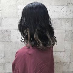 外国人風 ミディアム 上品 外国人風カラー ヘアスタイルや髪型の写真・画像