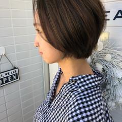 小顔 モード ショート 似合わせ ヘアスタイルや髪型の写真・画像