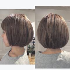グレージュ アッシュグレージュ 外国人風 ストリート ヘアスタイルや髪型の写真・画像