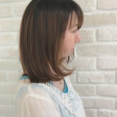 デート ボブ かわいい パーマ ヘアスタイルや髪型の写真・画像