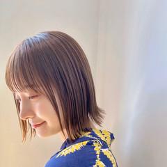 フェミニン ショートヘア ボブ ショートボブ ヘアスタイルや髪型の写真・画像