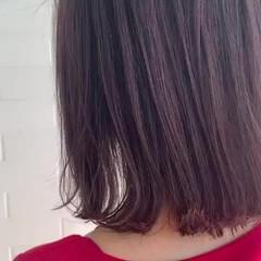 冬カラー 大人かわいい ヘアカラー フェミニン ヘアスタイルや髪型の写真・画像