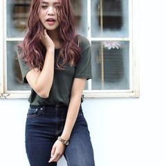 ストリート ハイライト 外国人風 大人かわいい ヘアスタイルや髪型の写真・画像