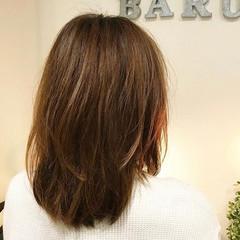 春スタイル サラサラ モード ミディアム ヘアスタイルや髪型の写真・画像