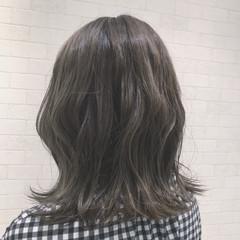 外国人風 ハイライト ヘアアレンジ ストリート ヘアスタイルや髪型の写真・画像