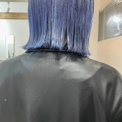 ブリーチカラー ボブ モード ショートボブ ヘアスタイルや髪型の写真・画像