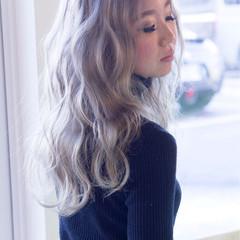 ストリート 外国人風 ロング 個性的 ヘアスタイルや髪型の写真・画像