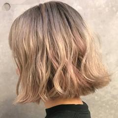 ハイライト 外国人風 ストリート パーマ ヘアスタイルや髪型の写真・画像