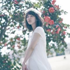 春 ヘアアレンジ ナチュラル ブライダル ヘアスタイルや髪型の写真・画像