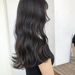 透明感 大人かわいい 暗色カラー 暗髪 ヘアスタイルや髪型の写真・画像