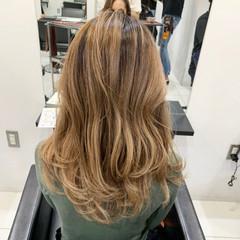 グラデーションカラー ハイライト モテ髪 エレガント ヘアスタイルや髪型の写真・画像
