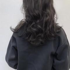 モード 透明感 外国人風 セミロング ヘアスタイルや髪型の写真・画像