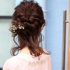 アッシュ 女子会 簡単ヘアアレンジ ショート ヘアスタイルや髪型の写真・画像