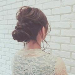 パーティ エレガント デート ロング ヘアスタイルや髪型の写真・画像