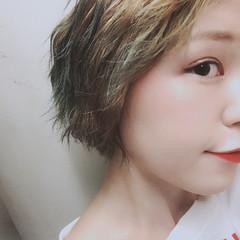 アンニュイ モード リラックス ウェーブ ヘアスタイルや髪型の写真・画像