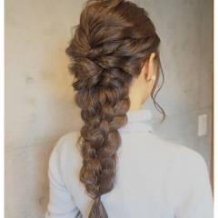 ヘアアレンジ 外国人風 大人かわいい ロング ヘアスタイルや髪型の写真・画像