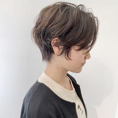 ベリーショート インナーカラー ショート ショートボブ ヘアスタイルや髪型の写真・画像