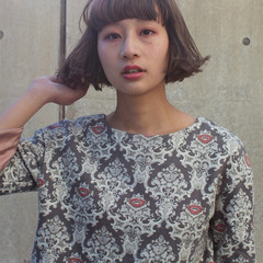 パーマ モード ミルクティー 色気 ヘアスタイルや髪型の写真・画像