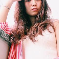 アッシュ ロング 前髪あり 透明感 ヘアスタイルや髪型の写真・画像
