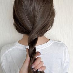 艶髪 アッシュベージュ ベージュ マロン ヘアスタイルや髪型の写真・画像
