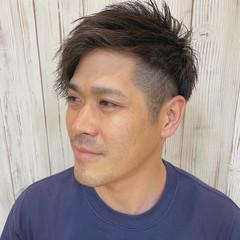 ストリート メンズショート 黒髪 メンズスタイル ヘアスタイルや髪型の写真・画像