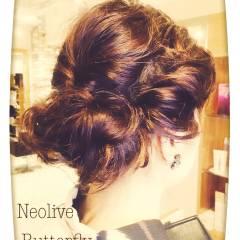 夏 ミディアム ゆるふわ 大人かわいい ヘアスタイルや髪型の写真・画像