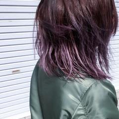 グラデーションカラー ボブ ストリート アッシュ ヘアスタイルや髪型の写真・画像