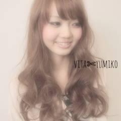 モテ髪 フェミニン 大人かわいい ウェーブ ヘアスタイルや髪型の写真・画像