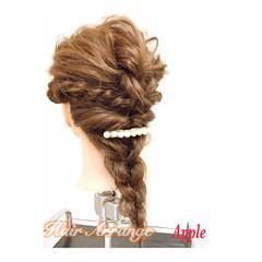 大人かわいい フェミニン ヘアアレンジ 成人式 ヘアスタイルや髪型の写真・画像