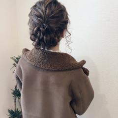 和装 和装ヘア ミディアム ヘアセット ヘアスタイルや髪型の写真・画像