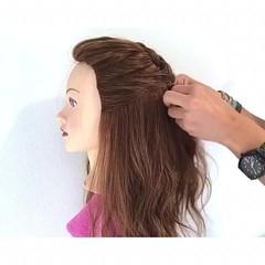 結婚式 デート ヘアアレンジ 雨の日 ヘアスタイルや髪型の写真・画像