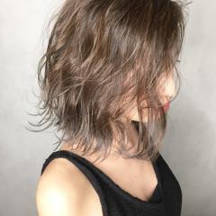 ストリート ハイライト 外国人風 ボブ ヘアスタイルや髪型の写真・画像