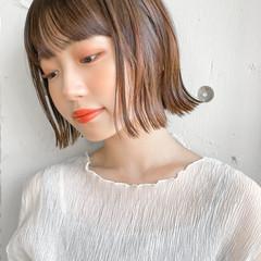 ショートヘア フェミニン パーティ ミニボブ ヘアスタイルや髪型の写真・画像