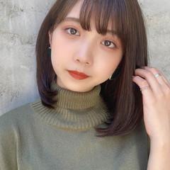 韓国ヘア タンバルモリ 縮毛矯正ストカール デート ヘアスタイルや髪型の写真・画像
