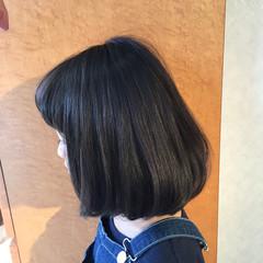 ガーリー ふわふわ ボブ ワンカール ヘアスタイルや髪型の写真・画像