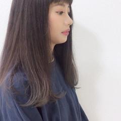 透明感 大人かわいい 抜け感 ロング ヘアスタイルや髪型の写真・画像