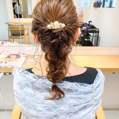大人かわいい ヘアアレンジ アンニュイほつれヘア ミディアム ヘアスタイルや髪型の写真・画像
